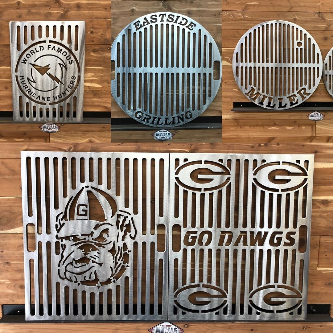 Custom Grill Grates by East Georgia Metals