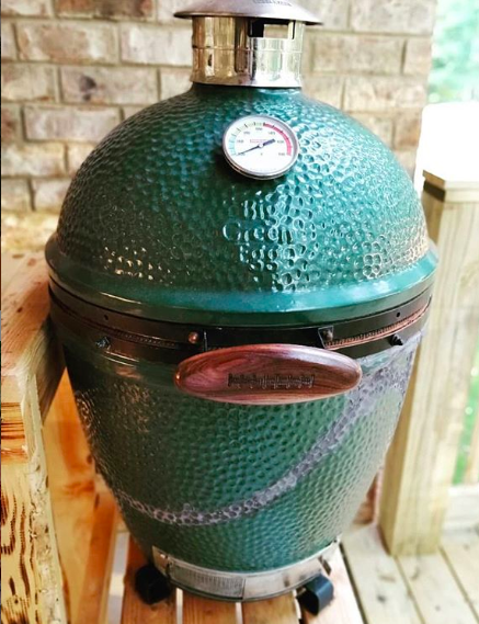 How to Fix a ed or Broken Big Green Egg, Fire Box, or ... Amazing Kitchen Ideas Big Green Egg on big green egg design, green egg small kitchen ideas, big green egg recipes, big green egg dinner,